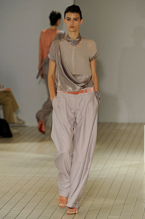 Richard Nicoll Spring 2009: Awash with Colorblocking