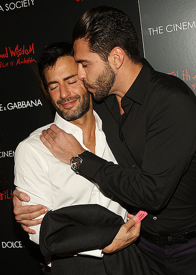 Marc Jacobs and Lorenzo Martone Weather Rumors with Hugs