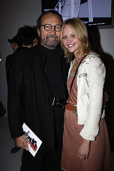 Nov. 18: With Paolo Roversi at Ron Arad Exhibition Preview At Centre Pompidou