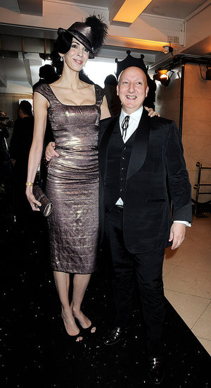 L'Wren Scott and Stephen Jones.