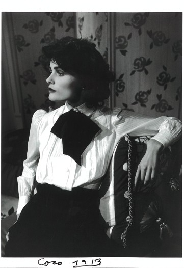 Edita Vilkeviciute as Coco Chanel in 1913.