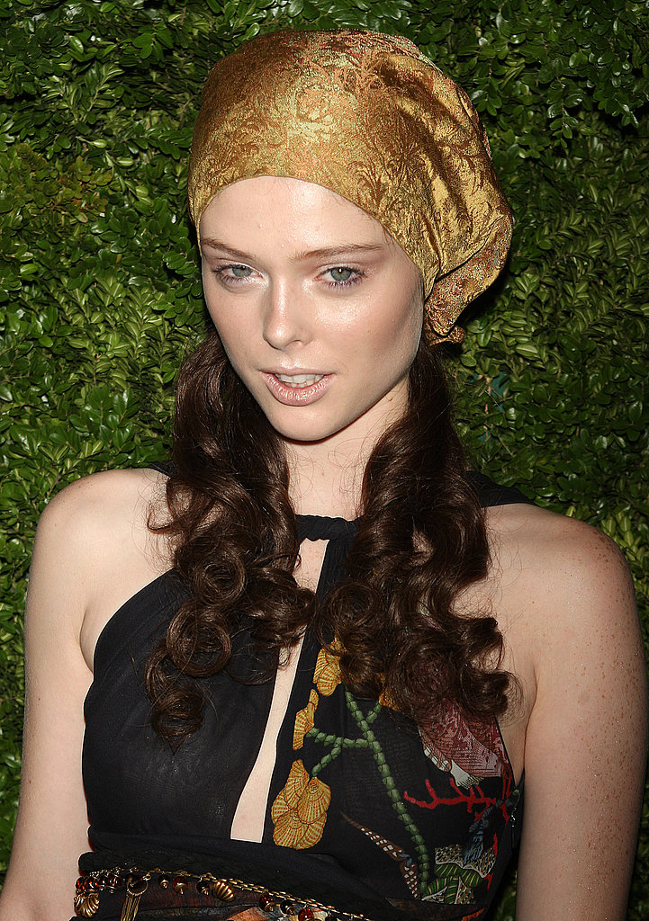 Nov. 17: CFDA/<i>Vogue</i> Fashion Fund ceremony in Albertus Quartus head scarf
