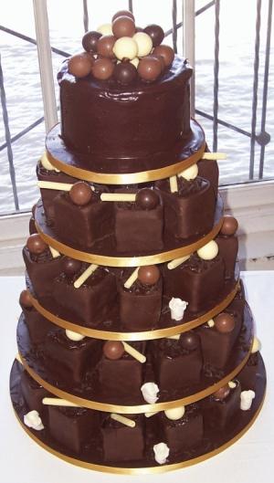 CHOCOLATE WEDDING CAKES Previous Next