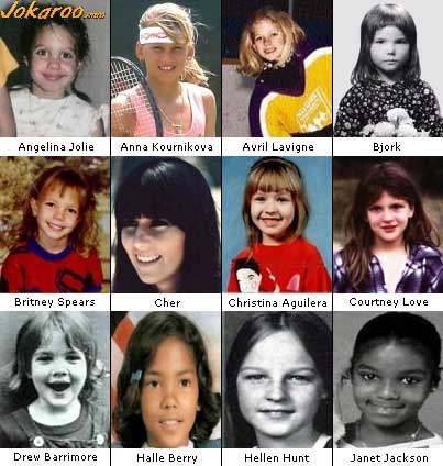 Celebs as kids