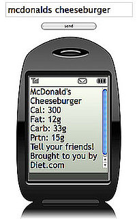 Healthy Eating Tip: Text Your Food to DIET1