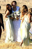 Rachel Bilson cute at Josh Schwartz wedding