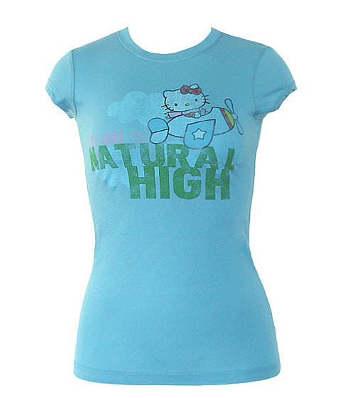 Mighty Fine T-Shirts ~ Hello Kitty Tess by Animation Shops