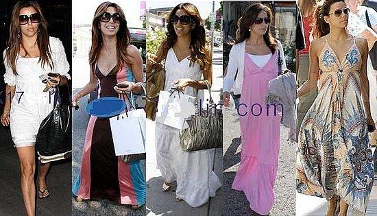 Looking for Eva Longoria dresses