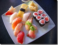 How often do you go out for sushi?