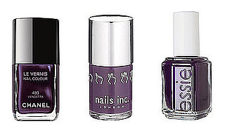 Dark Purple Nail Polish