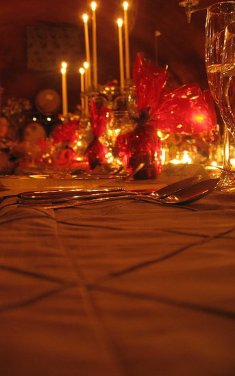 The candelabras truly added to the warm, jubilant and elegant feel of our banquet.