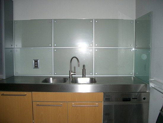 This is a picture of the backsplash