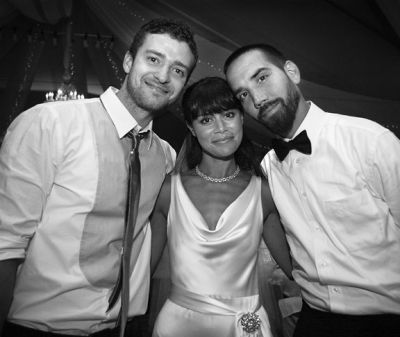 Rare Pictures of Justin at Marty Kudelka Wedding September 2008