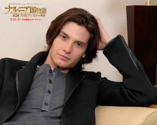 Do you think Ben Barnes looks like Orlando Bloom?
