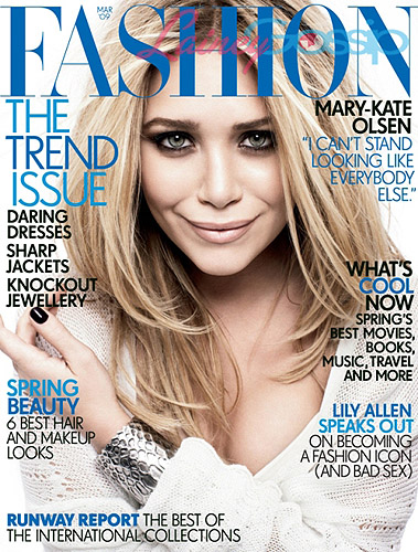 Do You Like Mary-Kate On Fashion Magazine?
