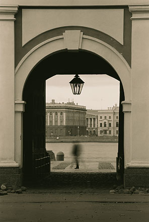 Saint-Petersburg. Black-and-White