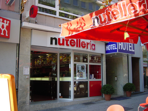 The Yummy World Of Nutella ....