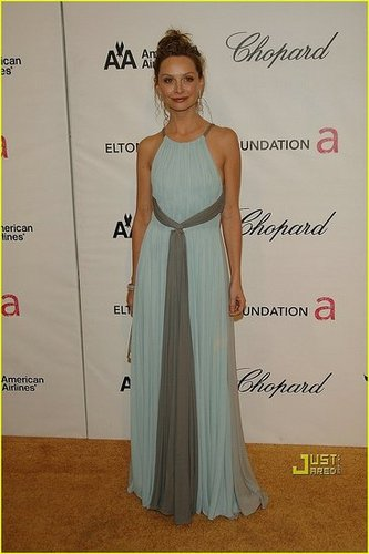 Calista Flockhart dress - Flashy or Trashy?