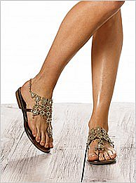 Victoria&#039;s Secret : Chandelier thong sandal
