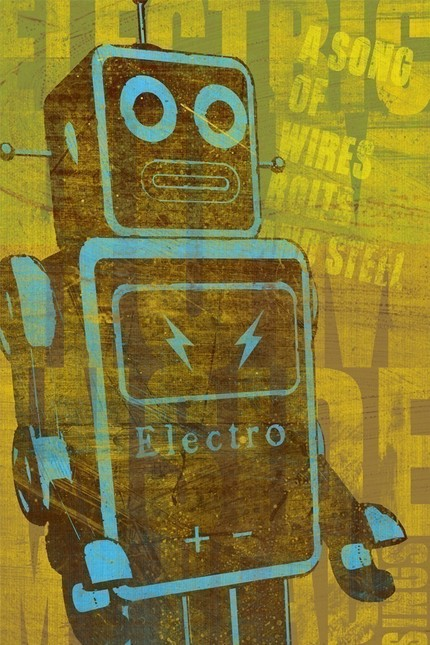 Get your robot groove on with A Song of Wires ($20) from John Golden.