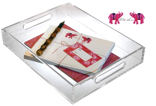 Make your desk seasonally savvy with the Iomoi Limited Edition Valentine's Desk Set ($50).