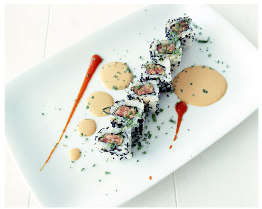 An example of the delicious sushi served at BondSt.