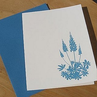 The Card Shop:  Blue Lupines
