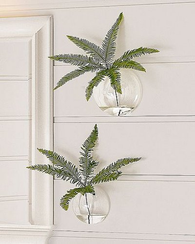 Bringing the Outdoors In:  Bubble Wall Vases