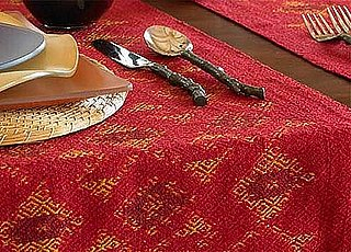 Steal of the Day: Silk Ikat Table Runner