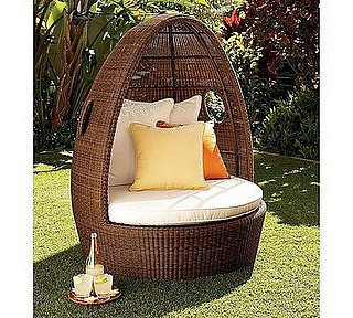 Love It or Hate It? Palmetto Honey All-Weather Wicker Egg Chair
