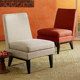 West Elm Hemp Slipper Chair