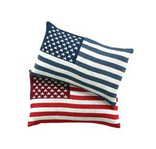 Steal of the Day: Vivre American Flag Pillow