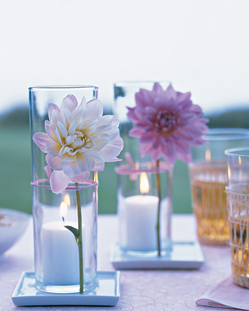 Casa Quickie: Flower Votive Display