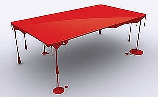 Love  It or Hate It? Paint Drip Table