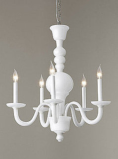Ask Casa: Milk Glass Chandelier