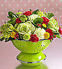 Cool Idea: A Colander As a Vase