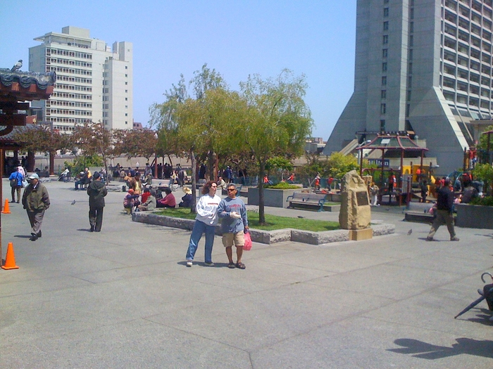 San Francisco's Portsmouth Square