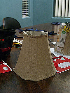 Before and After: Lampshade Recovery