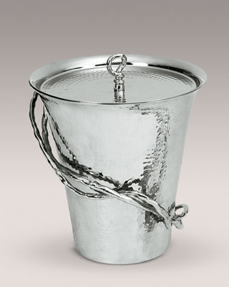 The Michael Aram Wisteria Ice Bucket ($199.90) is similarly adorned with branch accents on its side.
