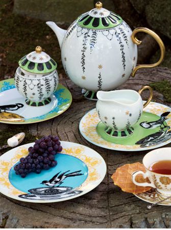 Mix and Match a Tea Party