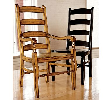 Get your own sturdy chairs with these  Wynn ladderback chairs.