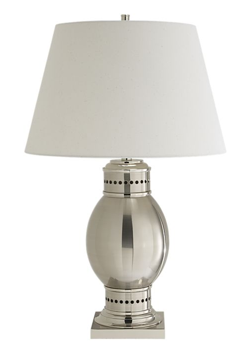 Achieve the same style with the Crate & Barrel Bosun Table Lamp ($149).
