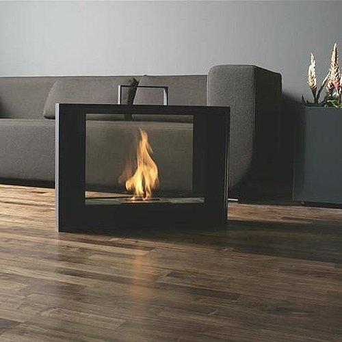 Why not try a portable fireplace? Source