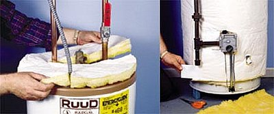 Learn how to insulate your water heater. Source