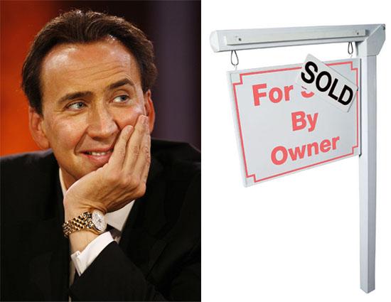 Nicolas Cage's Real Estate Roller-Coaster Ride