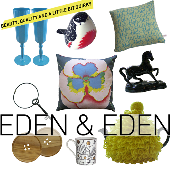 Fabulous San Francisco shop Eden & Eden brings its entire collection in amazing products online so you don't have to travel to the Bay Area to indulge! Source