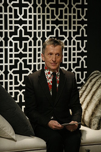 Simon lent his eye for design (he's the creative director of Barneys) as a guest judge on an episode of Top Design. Jonathan is a permanent judge on the show. Photo courtesy of Bravo