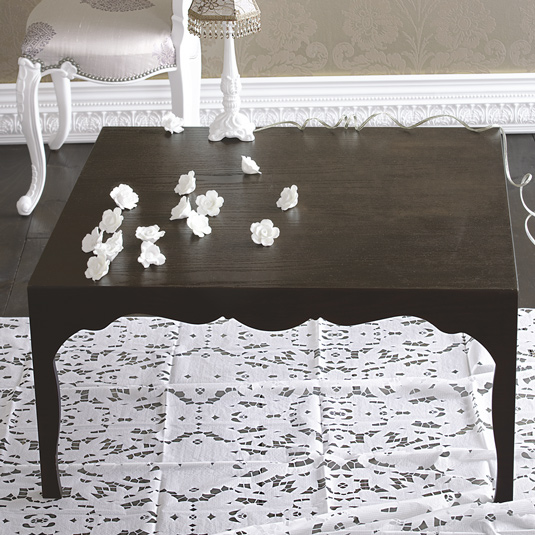 The Brocade Home Silhouette Coffee Table was on super sale earlier this year. Did you get one for your home? Source