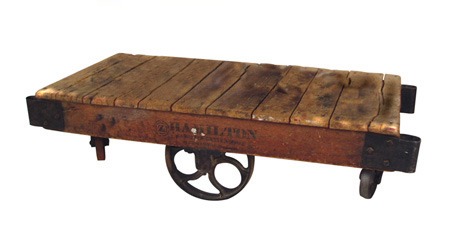 Industrial Cart Tables