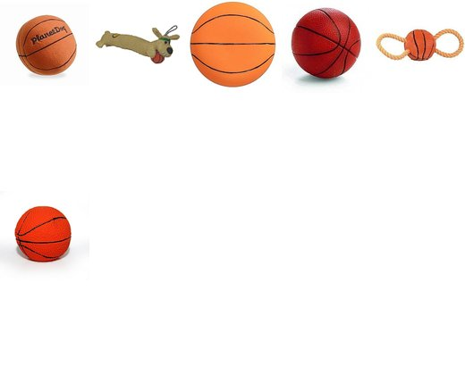 Take a Shot: Basketball Dog Toys